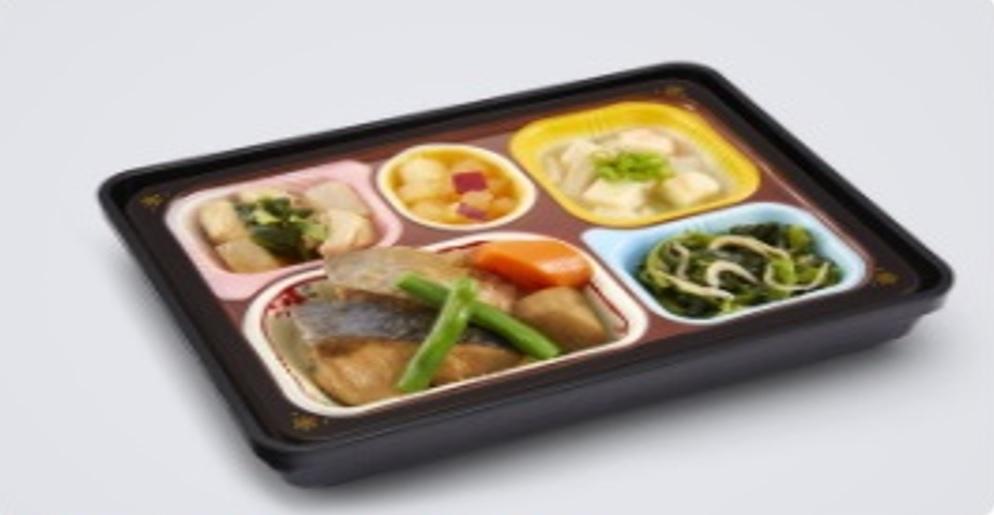 ぶりの照り焼き弁当の画像
